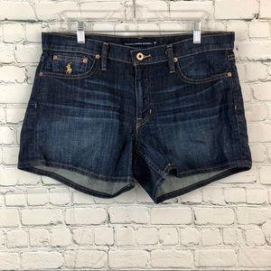 Ralph Lauren Sport blue jean shorts size 30